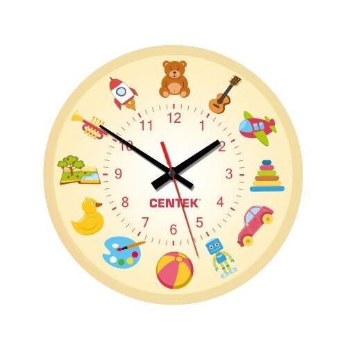 Часы настенные кварцевые CENTEK CT-7104 toys