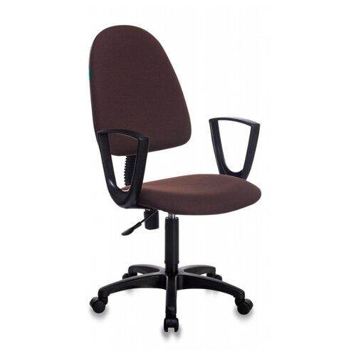 Компьютерное кресло Бюрократ CH-1300N офисное, обивка: текстиль, цвет: коричневый 3C08 офисное кресло бюрократ ch 1300n