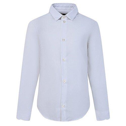 Рубашка EMPORIO ARMANI размер 122, белый рубашка emporio armani размер 146 белый