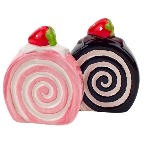 ELFF decor Набор солонка и перечница Бисквит розовый/коричневый/красный открывалка галстук elff ceramics
