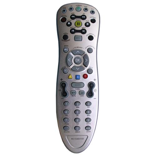 Пульт ДУ Huayu HOB549 для цифровой приставки Cisco CIS 430, Cisco ISB 7031 серебристыйПульты ДУ<br>