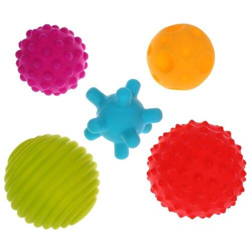 Купить Развивающая игрушка Жирафики Кругляшки, 5 шт. разноцветный, Развитие мелкой моторики