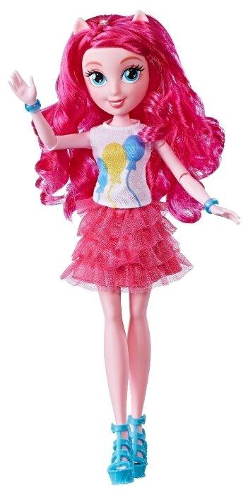 Кукла My Little Pony Equestria Girs Новые друзья Пинки Пай, 28 см, E0663/E0348