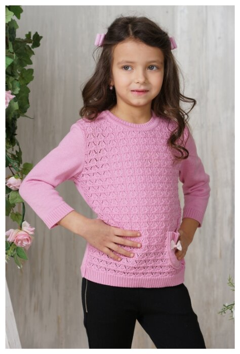 Джемпер Веснушки размер 110, розовый