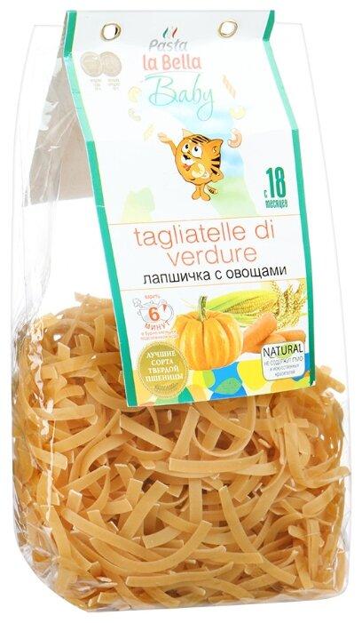 Макаронные изделия Pasta la Bella Лапшичка с овощами с 18-ти месяцев