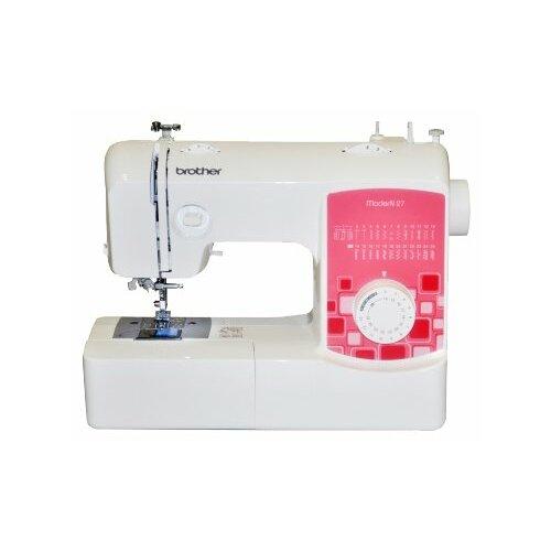 Швейная машина Brother ModerN 27, бело-розовый