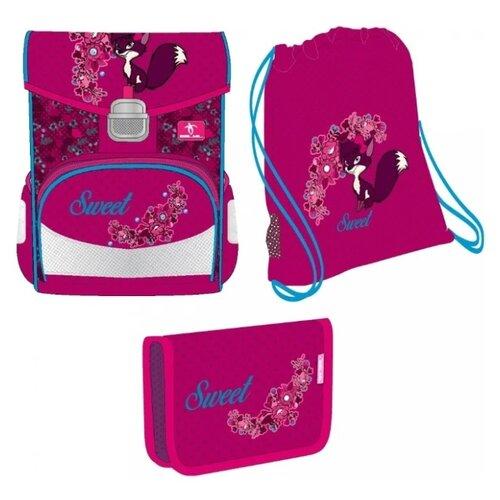 Купить Belmil Ранец Click Forest Foxy с наполнением, розовый/фиолетовый, Рюкзаки, ранцы
