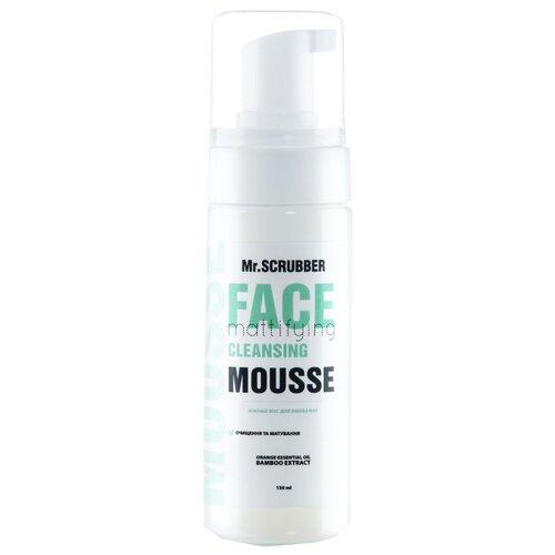 Mr. SCRUBBER матирующий мусс для умывания Face Mattifying Cleansing, 150 гОчищение и снятие макияжа<br>