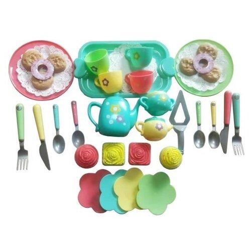 Набор продуктов с посудой Наша игрушка HY-686A разноцветный игрушка