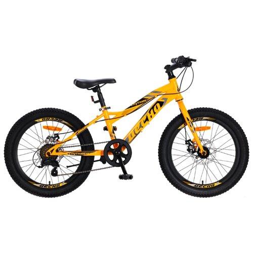 Подростковый горный (MTB) велосипед Десна Спутник 1.0 MD 20+ оранжевый 11 (требует финальной сборки)Велосипеды<br>