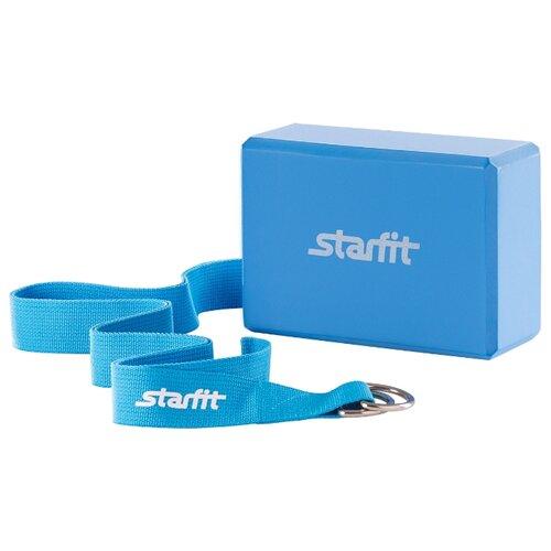 Набор для йоги Starfit FA-104 синий