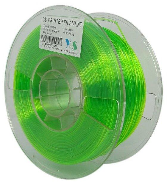 PETG пруток Yousu 1.75мм Зеленый