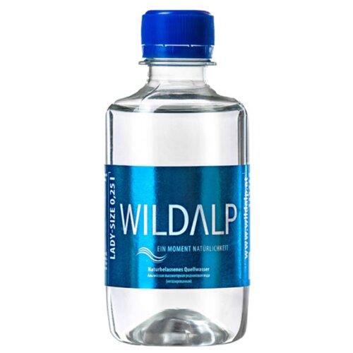 Вода альпийская природная родниковая Wildalp негазированная, ПЭТ, 0.25 лВода<br>