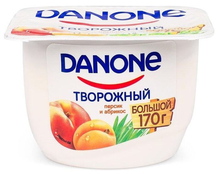 Творожный десерт Danone персик и абрикос 3.6%, 170 г