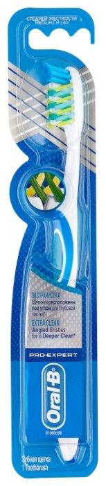 Зубная щетка Oral-B Pro-Expert Экстра-чистка: средней жесткости