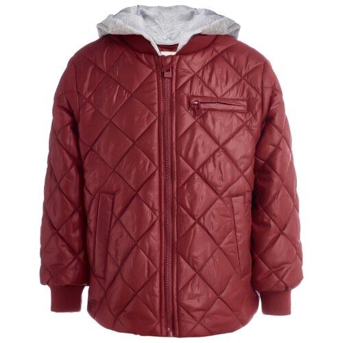 Купить Куртка Button Blue 119BBBC41023500 размер 158, красный, Куртки и пуховики