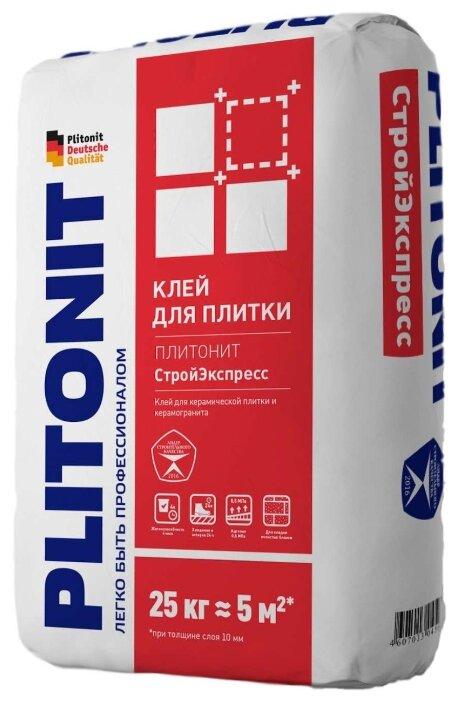 Клей Plitonit СтройЭкспресс 25 кг