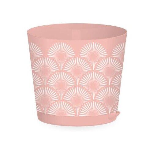 Горшок InGreen Easy Grow ING47020, 4л, 20х17.8 см розовый сад