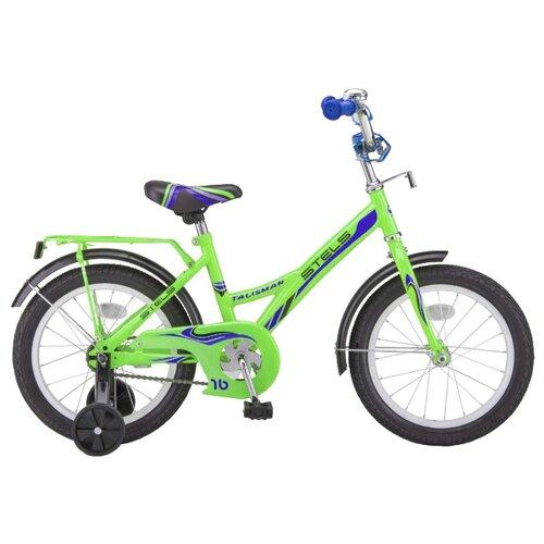 Фото - Детский велосипед STELS Talisman 14 Z010 (2018) зеленый 9.5 (требует финальной сборки) городской велосипед stels navigator 300 lady 28 z010 2018 фиолетовый 20 требует финальной сборки