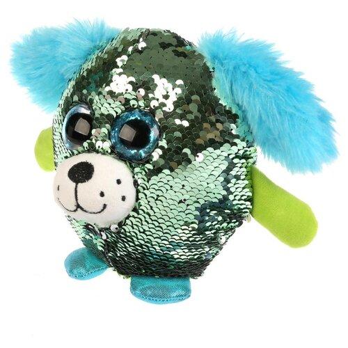 Купить Мягкая игрушка Мульти-Пульти Собачка блестящая 14 см, Мягкие игрушки
