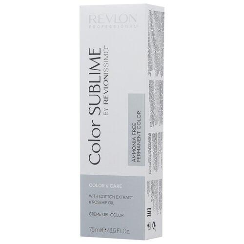 Revlon Professional Revlonissimo Color Sublime стойкая краска для волос, 75 мл, 6.35 темный блондин золотисто-махагоновый
