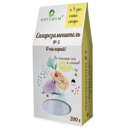 Оргтиум Сахарозаменитель № 5 порошок 200 г