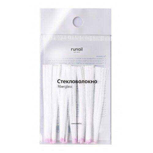 Материал для коррекции Runail стекловолокно Fiberglass 4476 белый 10 шт.