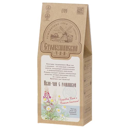 Чай травяной Столбушинский Иван-чай с ромашкой, 30 г чай травяной столбушинский иван чай с чабрецом и дущицей 30 г