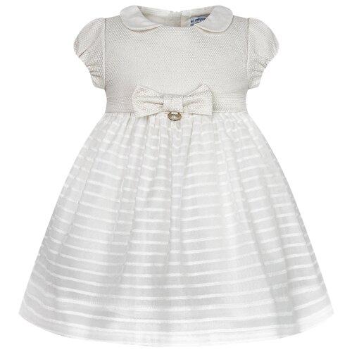 Фото - Платье Mayoral размер 80, бежевый легинсы mayoral 703 размер 80 marino