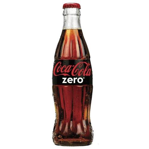 Газированный напиток Coca-Cola Zero, 0.33 л