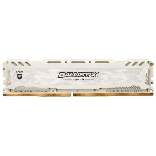 Купить Оперативная память Ballistix DDR4 3000 (PC 24000) DIMM 288 pin, 16 ГБ 1 шт. 1.35 В, CL 15, BLS16G4D30AESC