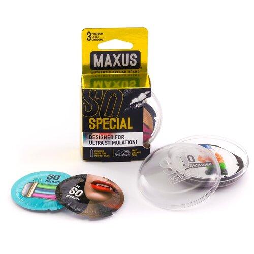 Презервативы Maxus Special (3 шт.)  - Купить