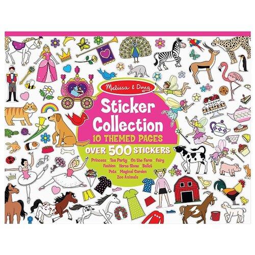 Купить Melissa & Doug Набор стикеров, розовый (4247), Наклейки