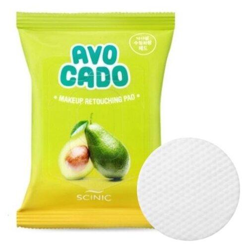 цена на Scinic спонжи для снятия макияжа с экстрактом авокадо, 30 шт.