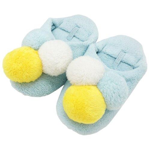 Тапочки Мороженое Halluci голубой 40-41Домашняя обувь<br>