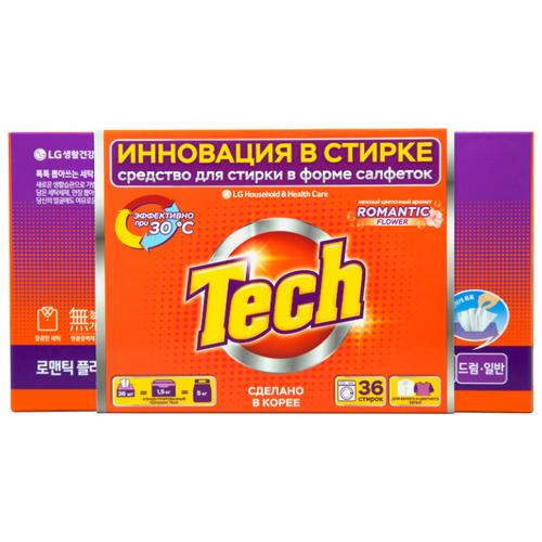 Фото - LG H&H салфетки Tech Revolution Цветочный аромат (автомат), картонная пачка, 36 шт h 108752