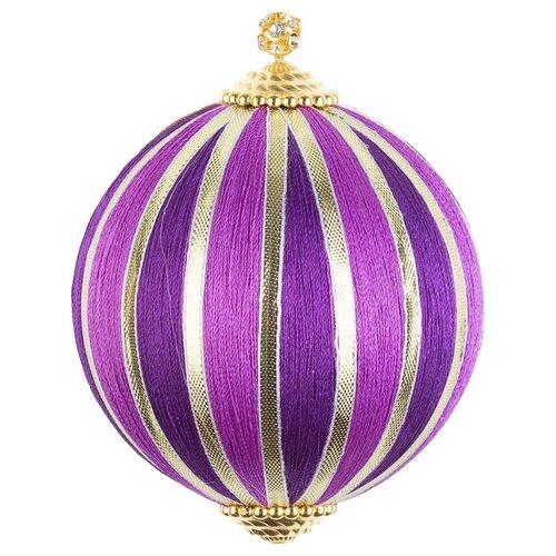 Набор шаров KARLSBACH 09150/09195, сиренево-фиолетовый/золотой