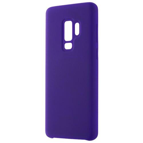 Чехол INTERSTEP Soft-T Metal для Samsung Galaxy S9 Plus фиолетовый