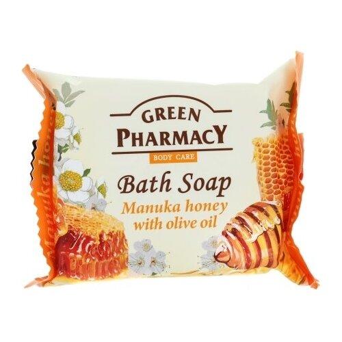 Купить Мыло кусковое Green pharmacy Манука мед с оливковым маслом, 100 г