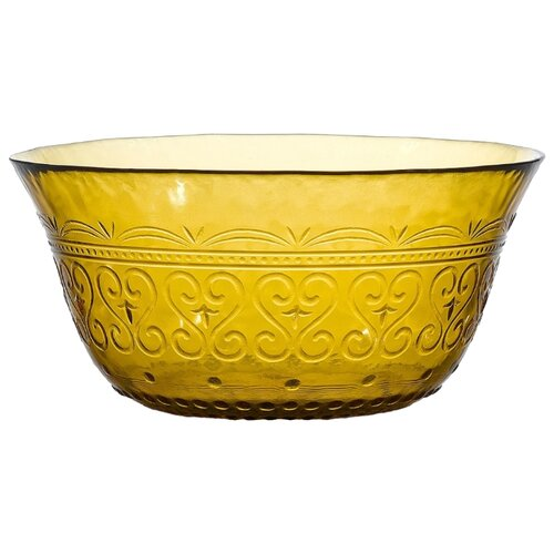 Boulanger Салатник стеклянный 15 см желтый