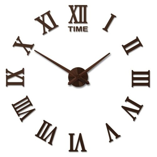 Часы настенные кварцевые 3D Decor Rome Wall Standart 100 см шоколад часы настенные вега классика 28 5 см