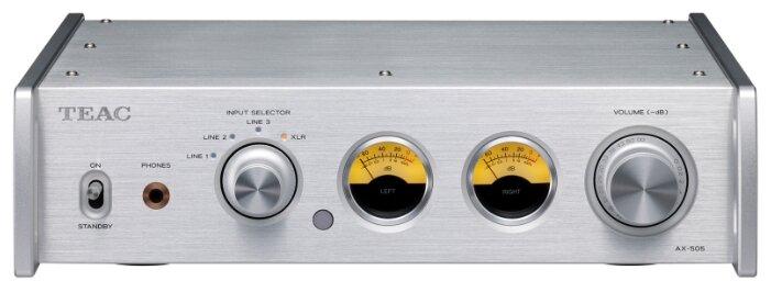 Интегральный усилитель TEAC AX-505 silver фото 1