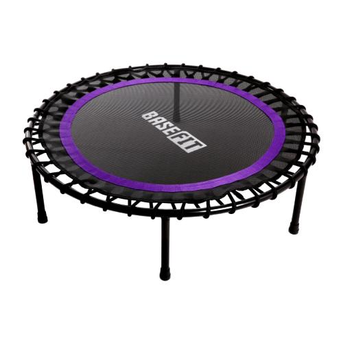 Каркасный батут BaseFit TR-501 101 см 101х101х26 см фиолетовый