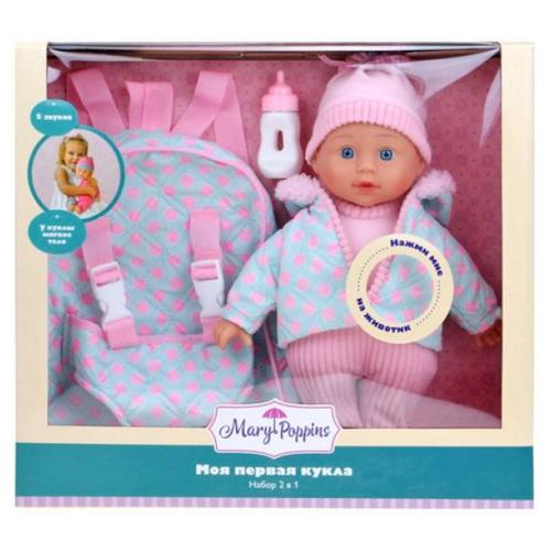 Купить Интерактивная кукла Mary Poppins Милый болтун, 30 см, 451311, Куклы и пупсы