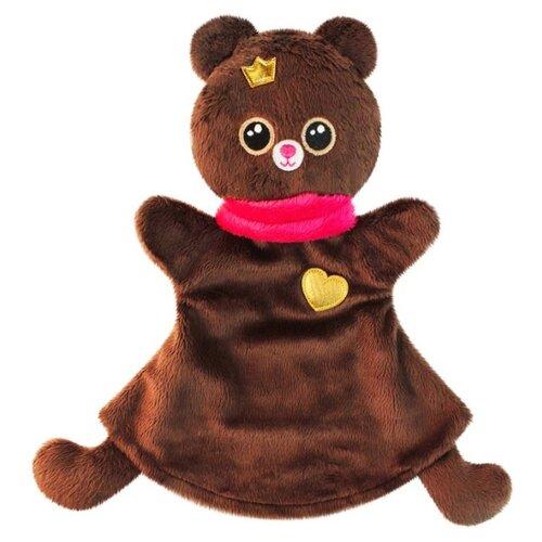 Купить Мякиши Игрушка-рукавичка Мишка (459) коричневый, Кукольный театр
