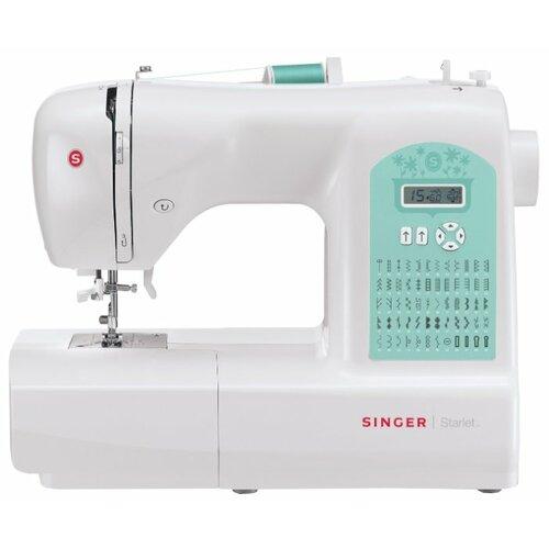 Швейная машина Singer Starlet 6660, белый/зеленый швейная машина singer 8280 p белый