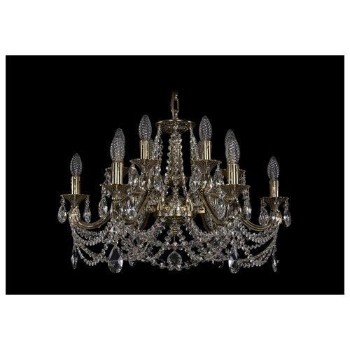 Люстра Bohemia Ivele Crystal 1703 1703/12/225/C/GB, E14, 480 Вт абажур bohemia ivele sh22