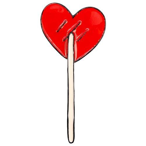OTOKODESIGN Брошь Красное сердце головоломка сердце красное 90012