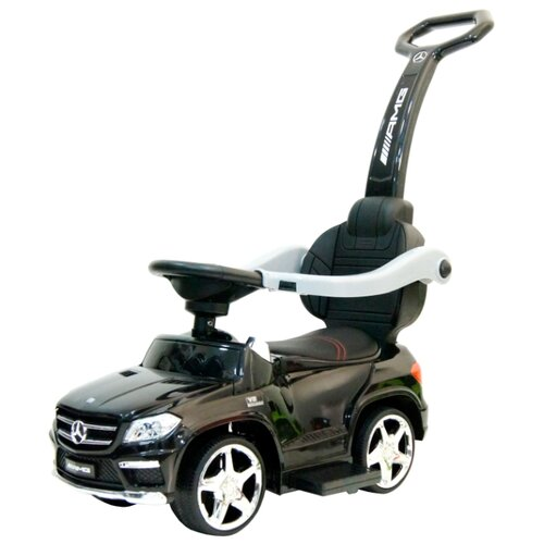 Каталка-толокар RiverToys Mercedes-Benz A888AA-H со звуковыми эффектами черный детские ходунки 306а красные rivertoys