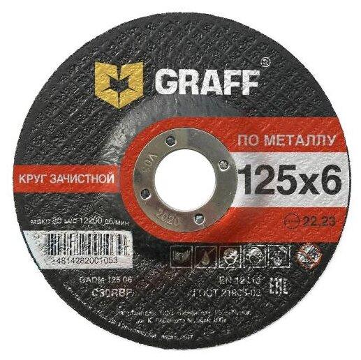 Шлифовальный абразивный диск GRAFF GADM 125 06